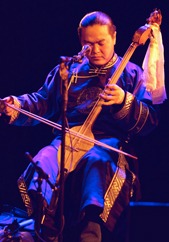 Ayan-ool Sam at Le Poisson Rouge, 2011