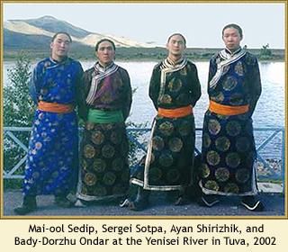 Alash. Tuva. 2002