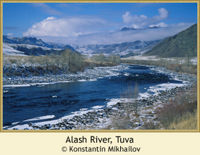 Alash River, Tuva