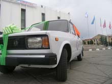 Bady-Dorzhu Ondar was given a car